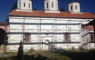 """ремонт на храм """"света параскева в село медковец"""