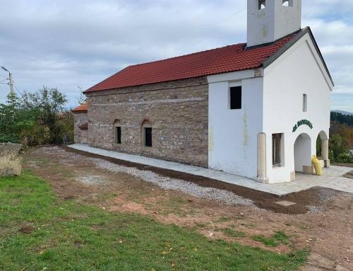 Завърши реставрацията на стенописите на два старинни храма в Кюстендилска духовна околия